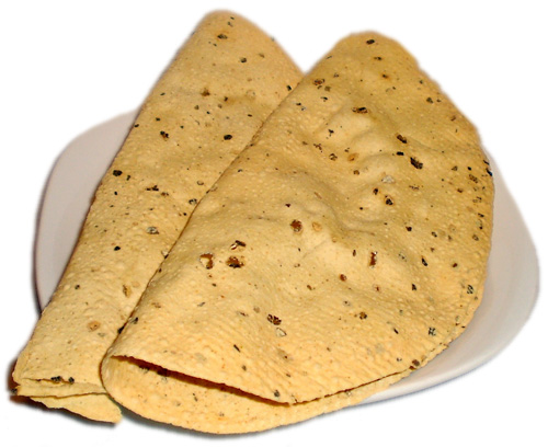 Poppadoms | Papad | Thin Indian Crispy Wafer [Food-India.com]