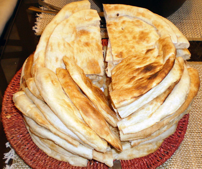 Naan (Leavened Flatbread)